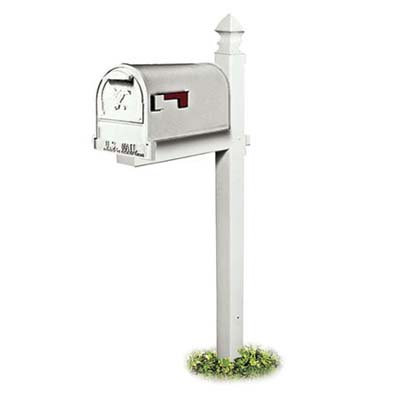 the basic model decorative mailbox post