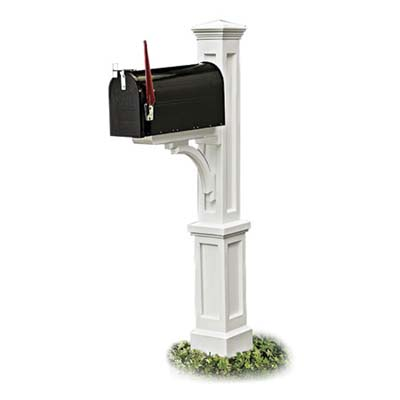 the mid-range model  decorative mailbox post