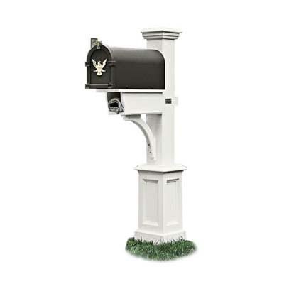 the mid-range model  decorative mailbox post
