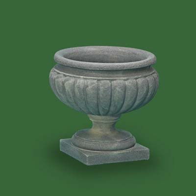 broad appeal urn by garden artisans