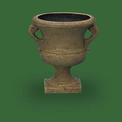trophy style urn by home depot