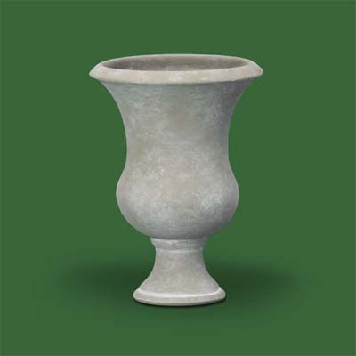 tailored terra-cotta urn by crate and barrel