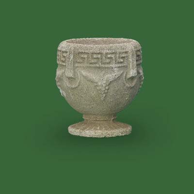 grecian goblet urn by lexington gardesn