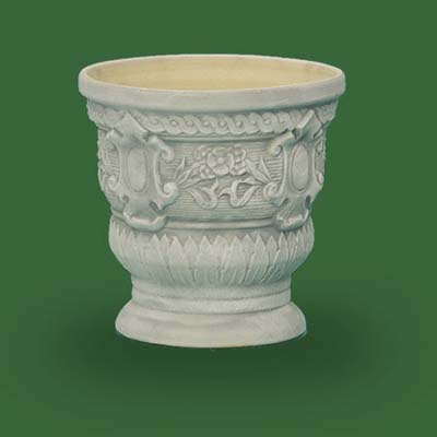 frieze frame urn by burley clay