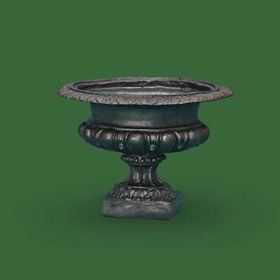 bronze bowl urn by pure modern