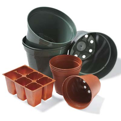 ten uses for plastic plant pots