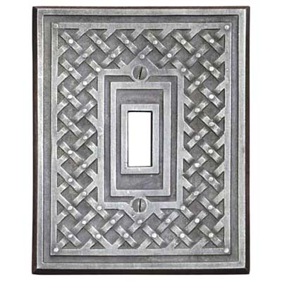 decorative metal switchplate