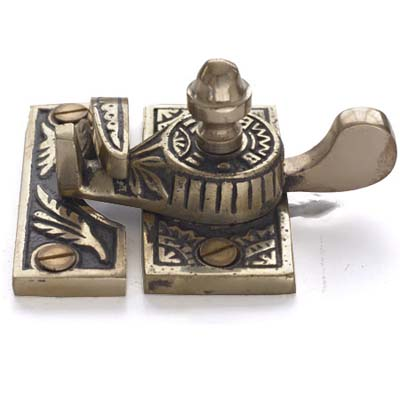 decorative metal sash lock
