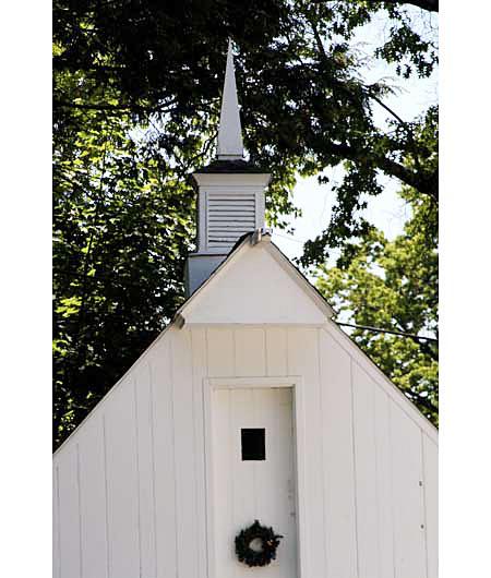 wooden spire