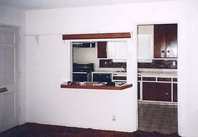 kitchen design before