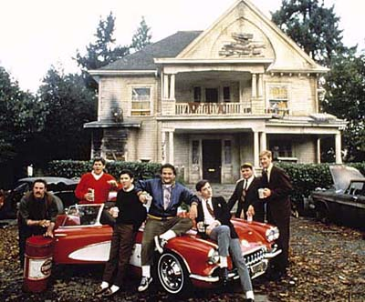 Home ownership lessons from Hollywood, Lanscaping, Animal House