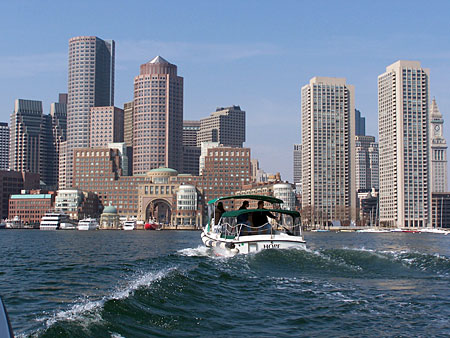 water taxi boston harbor