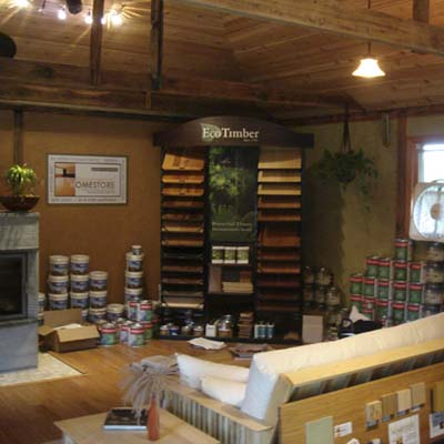 Environmental Home Store green showroom