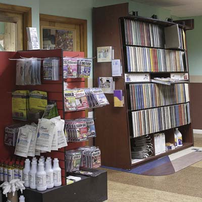 environmentally friendly building supplies at Green Depot Brooklyn store