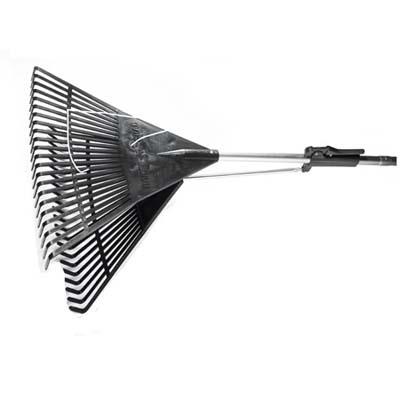 Rake-n-Grab pivoting-head rake