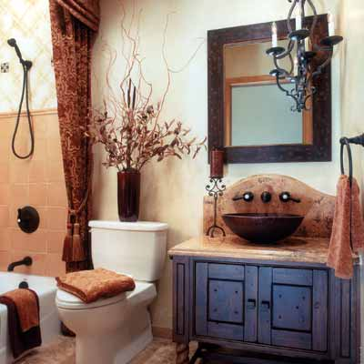 hacienda style bath 13 big ideas for small bathrooms bathroom ideas for old house the loo pinterest