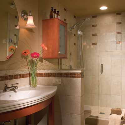 Retro redo 13 big ideas for small bathrooms this old house for Small bath redo