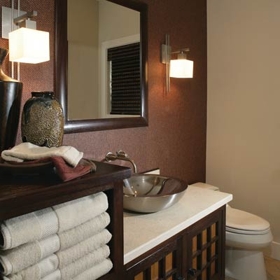 Clever kaidantansu 13 relaxing spa bath retreats this for Small bathroom zen design