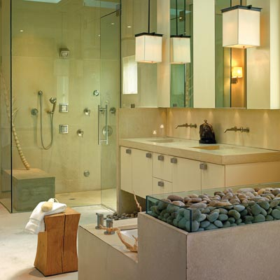 Spa style bathroom ideas native home garden design for Kitchen design zen type