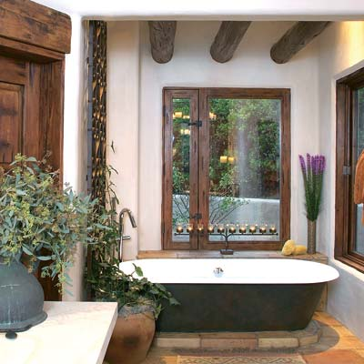 Bathroom Ideas on Fe Style Retreat   13 Relaxing Spa Bath Retreats   This Old House
