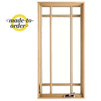 example of a made to order wood window for purchase