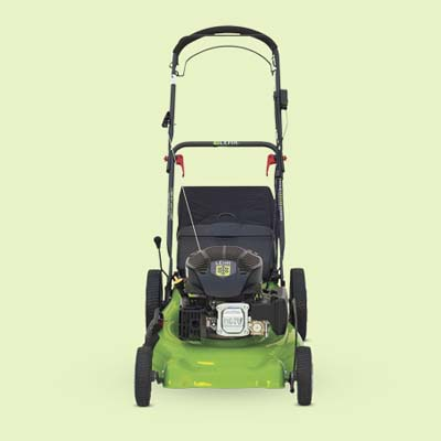 clean fuel lawn mower