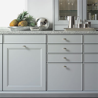 example of a custom kitchen cabinet