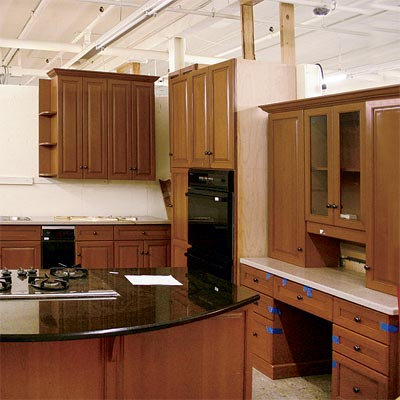 example of a used kitchen cabinet