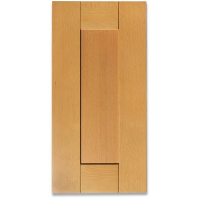 example of a flat panel kitchen cabinet door
