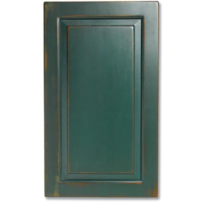example of a raised panel kitchen cabinet door