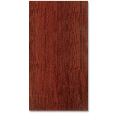 example of a slab kitchen cabinet door