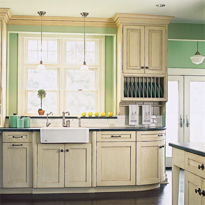 victorian style kitchen cabinets