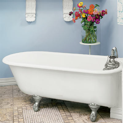 a classic-style claw-foot tub