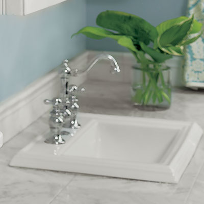 Kohler's Memoirs Self-Rimming Lavatory sink