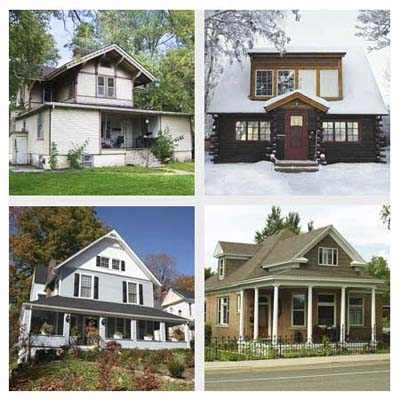 four neighborhoods voted best for cottages and bungalows of 2010