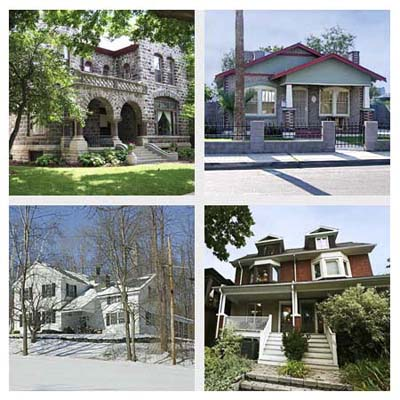 four neighborhoods voted most walkable of 2010