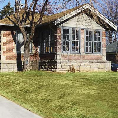 example of a best old house in the neighborhood of the west side pocatello idaho