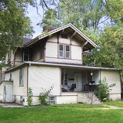 italiante house in best old house neighborhood in Hastings, Nebraska