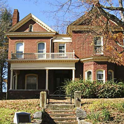 example of a best old house in the neighborhood of solar hill historic district bristol virginia