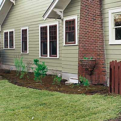 french drain around exterior of house