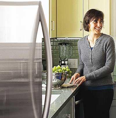 kitchen aid energy star refrigerator and dishwasher