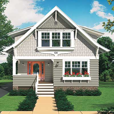 the Real-Life Photoshop Redo Contest winning house Photoshop rendering