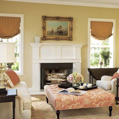 Colonial decor interior home design home decorating for Colonial living room decorating ideas