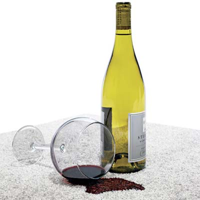 white wine removes red wine stain on carpet
