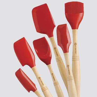 silicone spatula set from sur la table