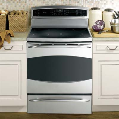 thirty inch induction range by ge 