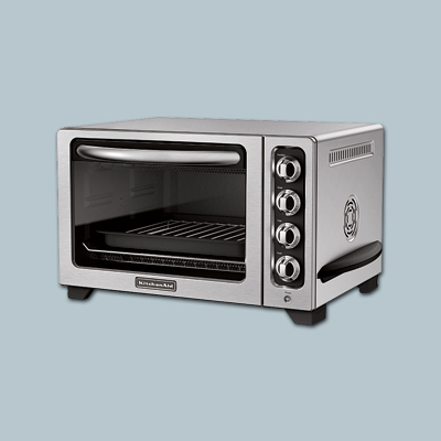toaster oven by kitchen aid
