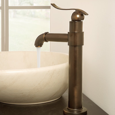 olive bronze bathroom faucet by graf and bowl sink