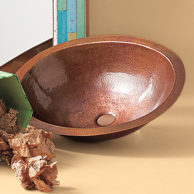 recycled copper basin