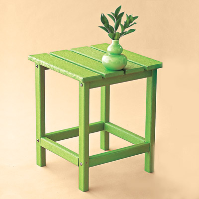 recycled all weather table